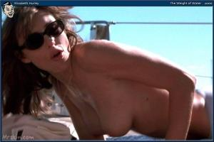 Video Elizabeth Hurley - Toples Sunbathing - The Weight Of The Water (2000)