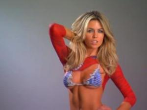 Video Abbey Clancy (Mrs Crouch) Beautiful Nude Body Painted
