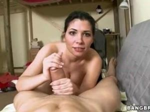 Video Rebeca Linares Sucks A Mean Dick