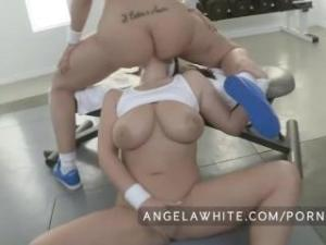 Video Busty Angela White And Big Booty Kelly Divine Anal Sex