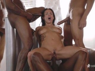 Video Anissa Kate Interracial Gangbang