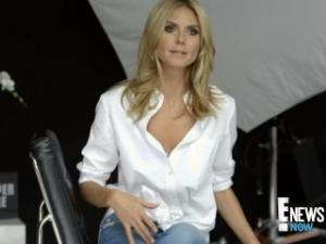 Video Heidi Klum - E News Behind The Scenes