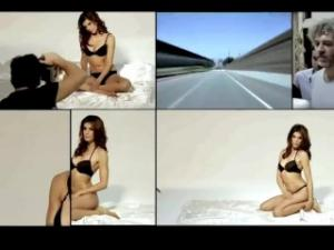 Video Elisabetta Canalis - Lormar Basic Collection 2013 Backstage