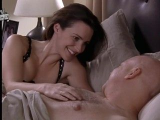 Video Kristin Davis Bra In Bed Sex And The City