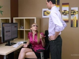 Video Secret Office Slut Part 1 Of 2 Katie Banks Job Is On The Line