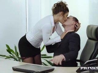 Video Julia Roca Has Her Hairy Pussy Pounded In The Office