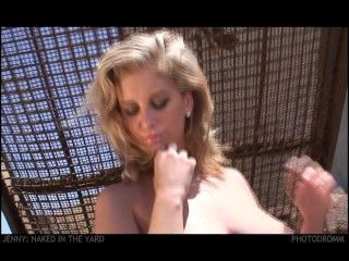 Video Jenny Mcclain - In The Yard #1