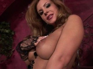 Video Huge Titted Dorothy Black Fucks Herself With A Dildo