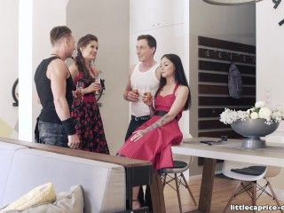 Video Swinger Party Rockabilly Style - Little Caprice Get Wild