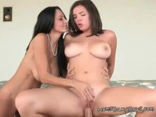 Video Shae Summers And Ava Addams Share A Big Cock