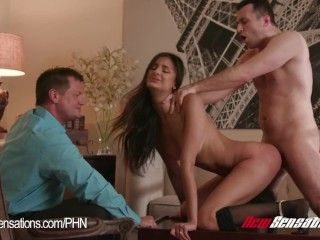 Video Hotwife Eliza Ibarra Watched By Her Husband Fuck Another Guy