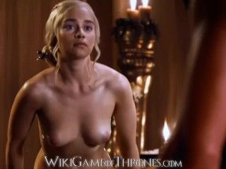 Video Daenerys Targaryen (Emilia Clarke) Em Cenas De Sexo Real Em Game Of Thrones