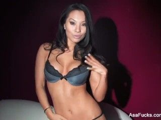 Video Amazing Asa Akira Dps Herself With Toys