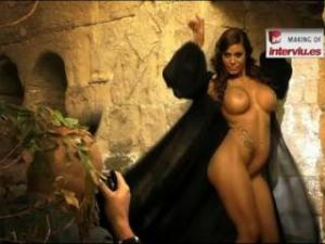 Video Tatiana Delgado Desnuda-  Making Of Interviu