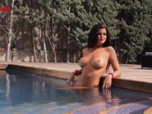 Video Lola Ortiz Desnuda - Making Of Interviu