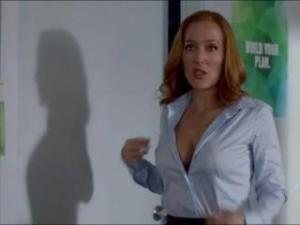 Video Dana Scully (Gillian Anderson) Sex Scene In X-Files S10E3
