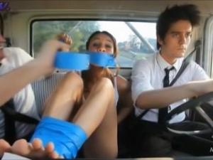 Video Giorgia Crivello Bound And Gagged Feet
