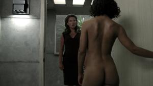 Video Thandie Newton, Angela Sarafyan Y Tessa Thompson Desnudas - Westworld
