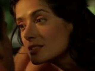Video Salma Hayek Sexy, Hot, Lingerie - After The Sunset (2004)
