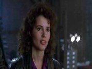 Video Geena Davis - The Fly