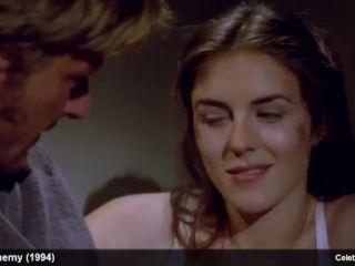 Video Celebrity Actress Elizabeth Hurley Topless And Sexy Movie Scenes